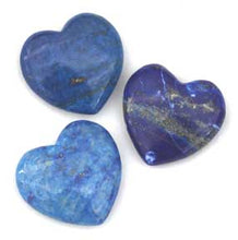 Load image into Gallery viewer, Lapis Lazuli Heart 41mm wide