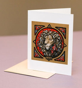 Astrology Card for Leo