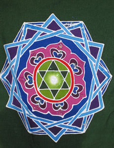 Mandala Balinese Batik Rayon Prayer Flags