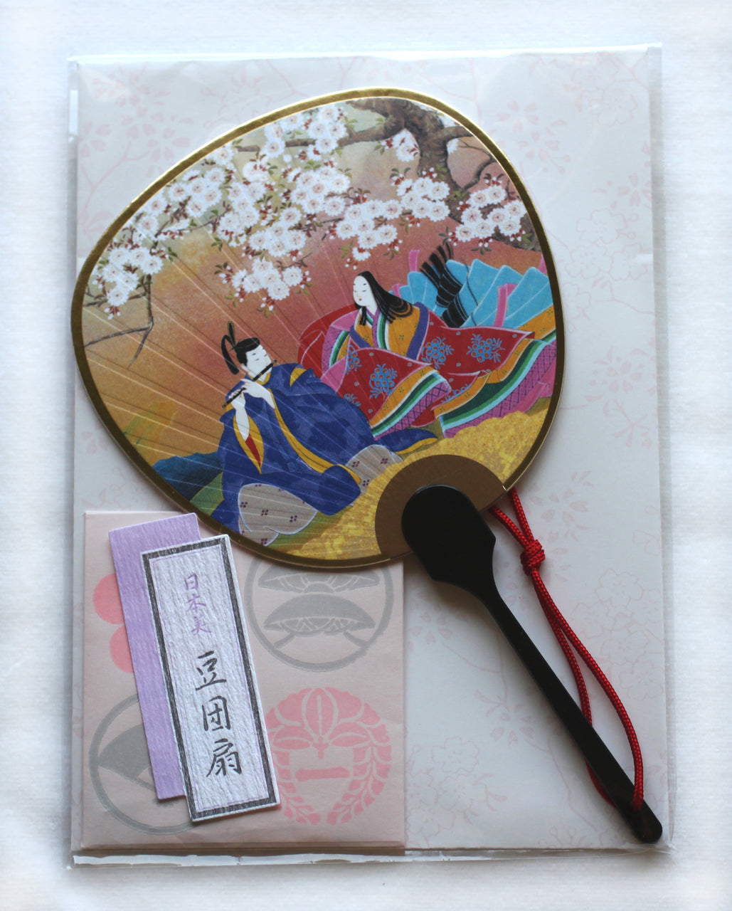 Japanese Greeting Card Fan