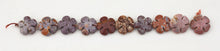 Load image into Gallery viewer, Fancy Jasper Beads in Flower Power shapes