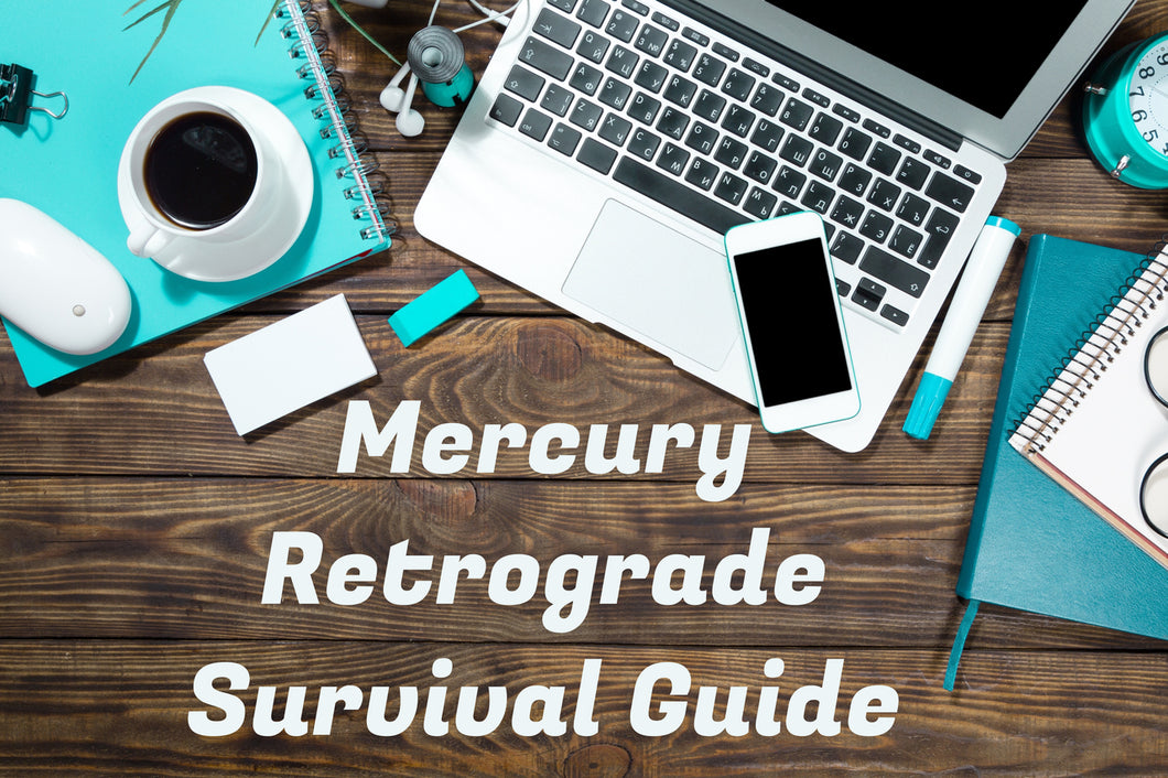 Mercury Retrograde Survival Guide: a personalized email report