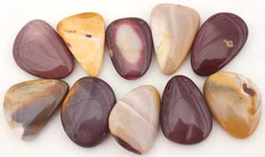Mookaite Jasper Pocket Stones for Stress Reduction, Ease with Change, and Enhance Brain Function