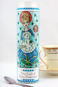 Our Lady of Party Perfection Prayer Candle