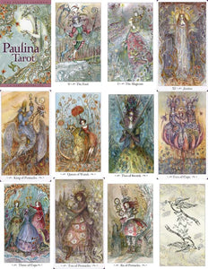 Paulina Tarot Deck - Whimsical and Enchanting!
