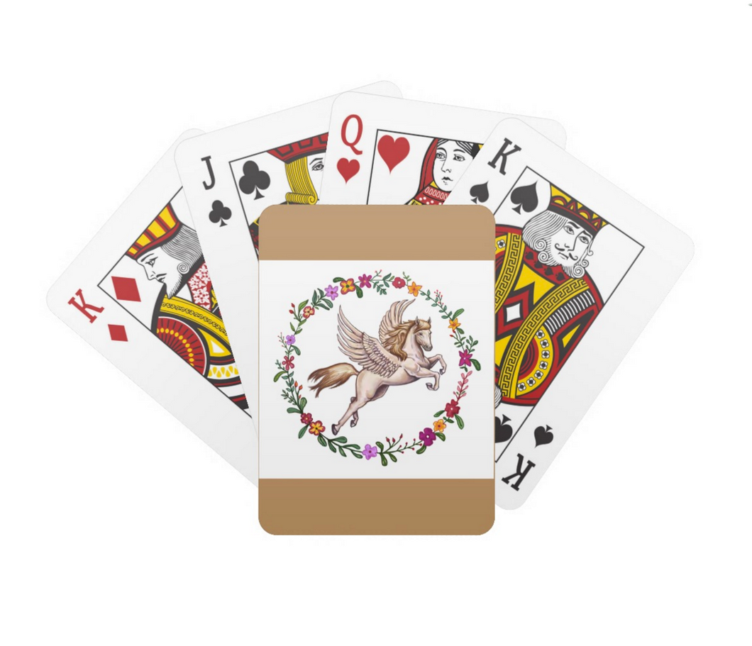 Pegasus Playing Cards by Kyle MacDuggall