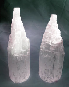 Selenite Tower Instantly Clears Your Space!  Small