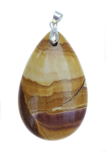Pilbara Hill Jasper pendant in tear drop shape for ease with spiritual disciplines