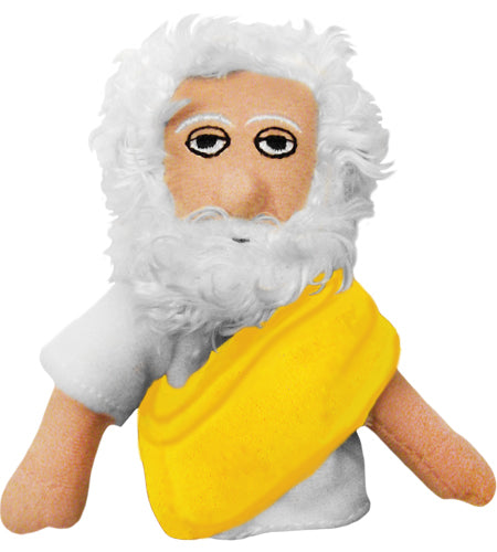 Plato Finger Puppet and Fridge Magnet