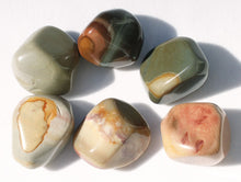 Load image into Gallery viewer, Polychrome Jasper Natural Tumbled Stones