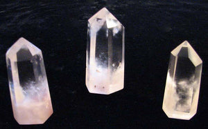 Limonite Encased in a Quartz Crystal Point - the Golden Healer Crystal