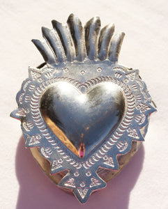 Sacred Heart Cachet by Cody Foster in Milagro-Style