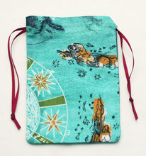 Load image into Gallery viewer, Sagittarius Zodiac Drawstring Bag for Your Tarot Deck