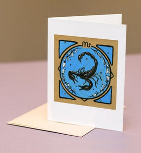 Astrology Card for Scorpio