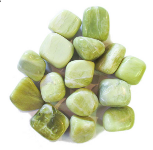 Serpentine Natural Tumbled Stones by the pound