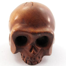 Load image into Gallery viewer, Skull Bead Ojime Bead