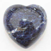 Load image into Gallery viewer, Sodalite Heart 1.5 inches Puffy Heart
