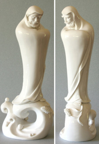 Damo Figurine in fine porcelain.