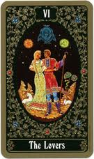 Russian Tarot of St. Petersburg Deck - Folk and Fairy Tale Images