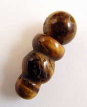 Load image into Gallery viewer, Golden Tiger's Eye Mala Guru Bead for Stringing Your Own Mala
