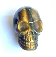 Load image into Gallery viewer, Tiger's Eye Skull Bead