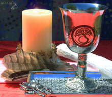 Load image into Gallery viewer, Tree of Life Chalice Celtic Cup