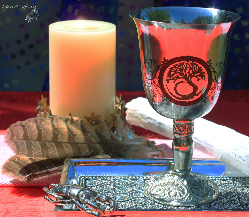 Tree of Life Chalice Celtic Cup