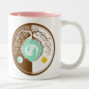 Celtic Tree of Life Zodiac Coffee Mug for the Sign of Cancer