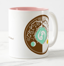 Load image into Gallery viewer, Celtic Tree of Life Zodiac Coffee Mug for the Sign of Cancer