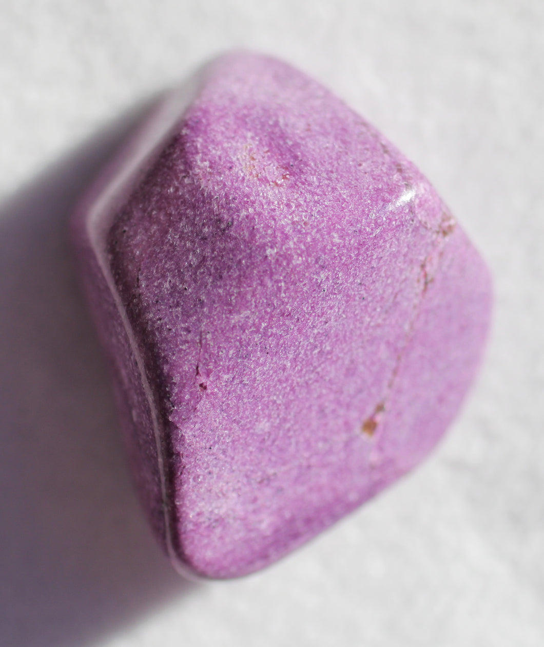 Stichtite Pocket Stone for clarity.