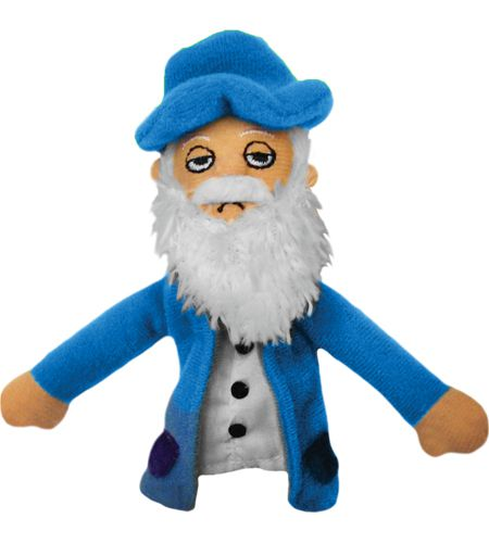 Claude Monet Finger Puppet and Fridge Magnet