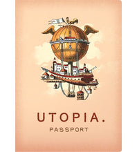 Load image into Gallery viewer, Utopia Passport Notebook from Unemployed Philosophers Guild