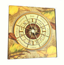 Load image into Gallery viewer, Wiccan Wheel of the Year Avery 3-Ring Binder with Pagan Prayer