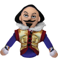Load image into Gallery viewer, William Shakespeare Finger Puppet and Fridge Magnet