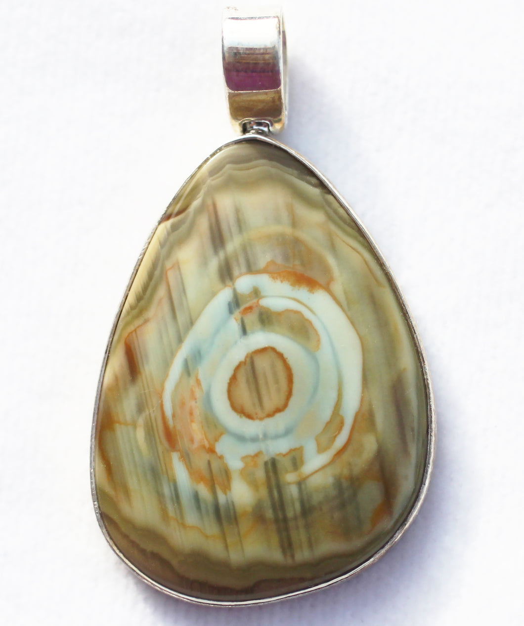 Willow Creek Jasper Pendant with exceptional markings