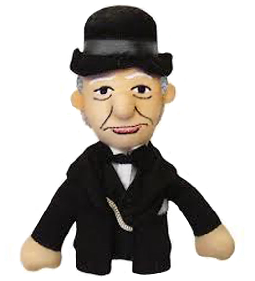 Winston Churchill Finger Puppet and Fridge Magnet - Retired Collectible