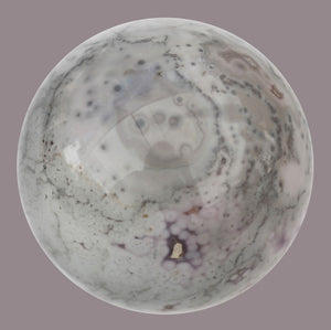Wood Lace Agate Sphere