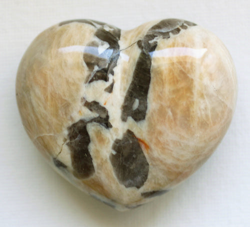 Zebradorite Puffy Heart - Summons Memories of Life Times in Ancient Egypt