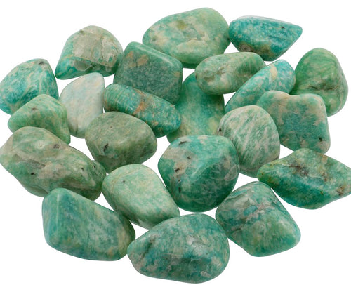Amazonite Tumbled Stone Extra Large - Stand Up For Yourself!
