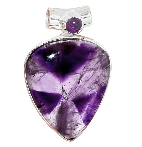 Amethyst Pendant with starburst effect