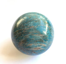 Load image into Gallery viewer, Blue Apatite Sphere 2 Inch diameter