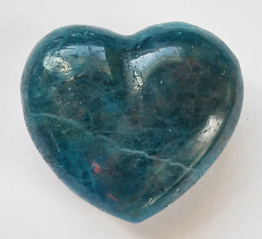 Apatite Puffy Heart 1 inch wide