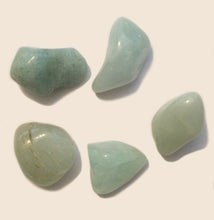 Load image into Gallery viewer, Aquamarine Pebble for your pocket