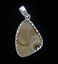 Load image into Gallery viewer, Blue Morpho Butterfly Wing Pendant in size small