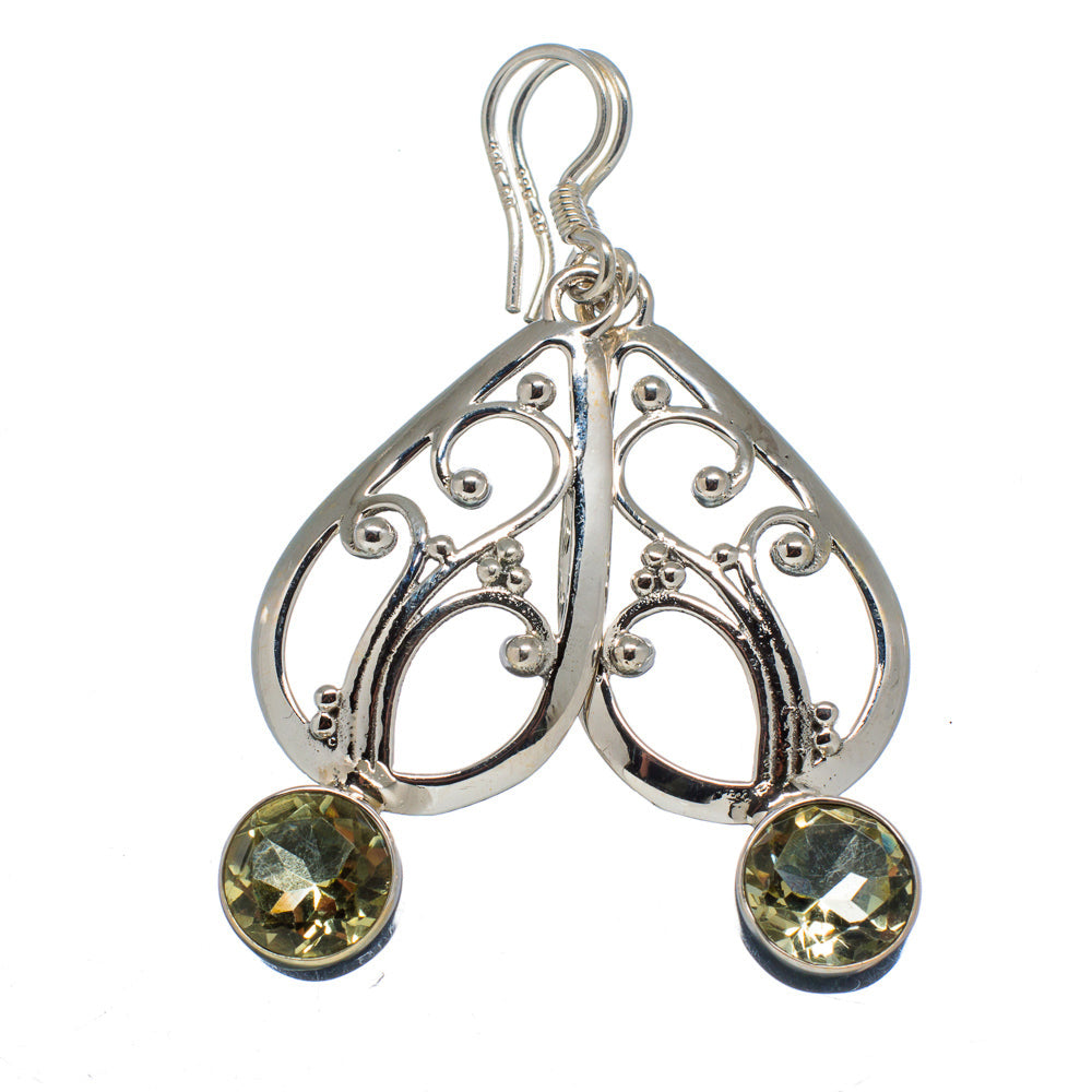 Tree of Life Celtic Earrings natural untreated Citrine