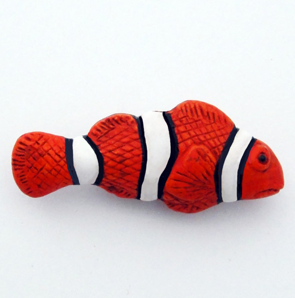 Ceramic Clown Fish bead