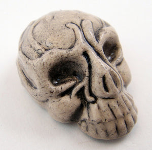 Skull Mask Ceramic Bead
