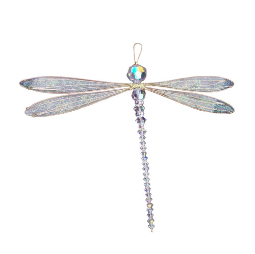 Dragonfly Suncatcher Mobile with Swarovski crystals