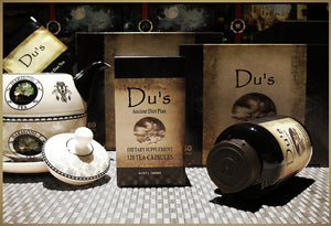 Du's Caffeine-Free Tea Capsules - Natural Tea for Diet and High Blood Pressure