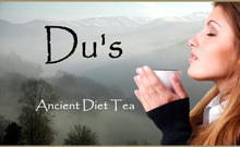 Load image into Gallery viewer, Du's Caffeine-Free Tea Capsules - Natural Tea for Diet and High Blood Pressure